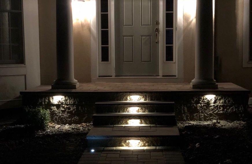 LED Light Outdoor Installation
